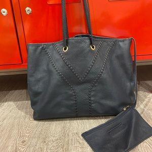 Vintage YSL reversible tote bag